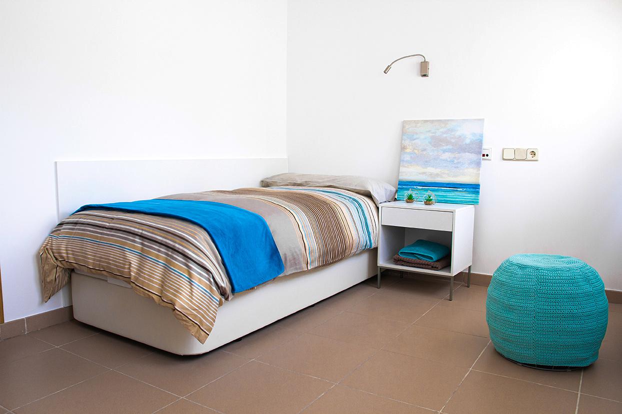 habitación residencia Tomás Moro