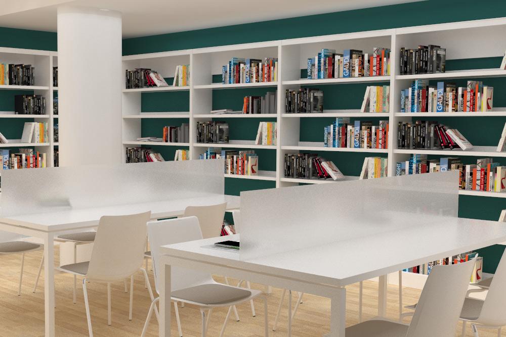 Biblioteca Tomás Moro de Trilema galería