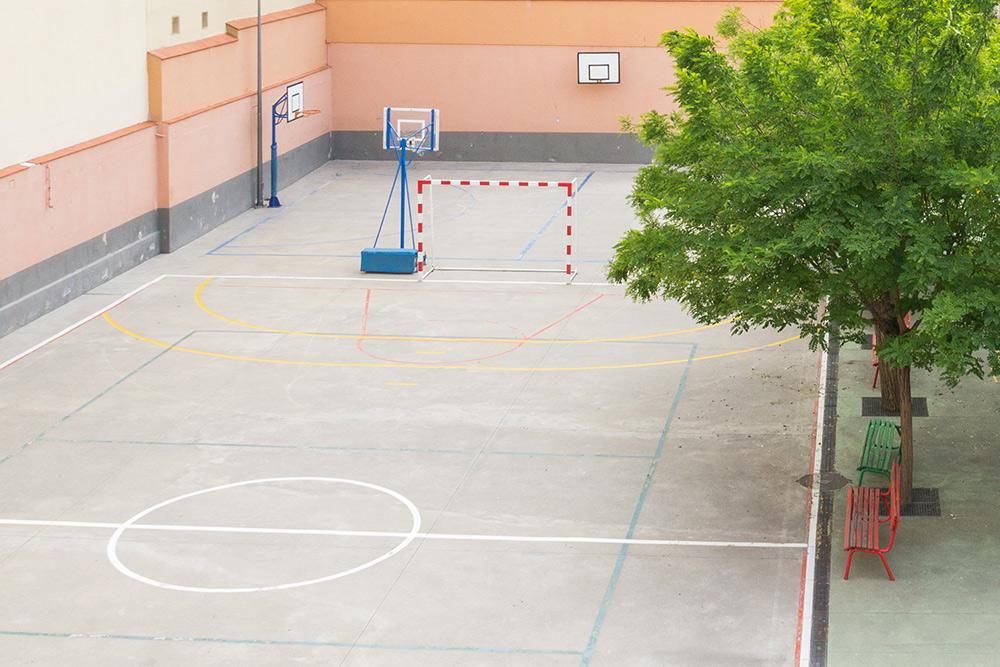 zona deportiva residencia Tomás Moro