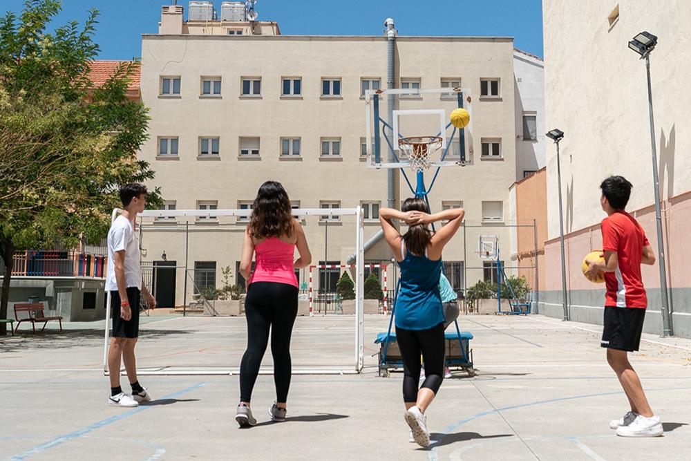 baloncesto en Tomás Moro residencia